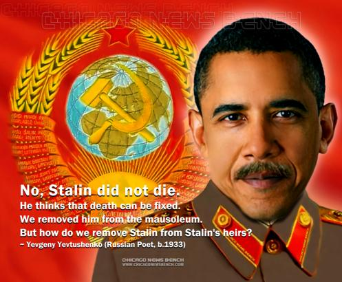 Dictator Obama, Heir to Stalin