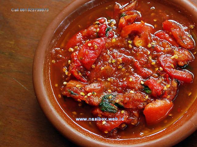 Resep sambal tomat ala rumah makan ciwidey