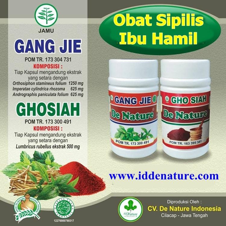 Obat Sipilis untuk Ibu Hamil Herbal de Nature