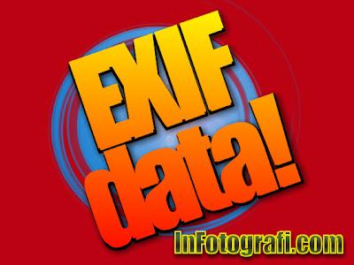 menggunakan exif data