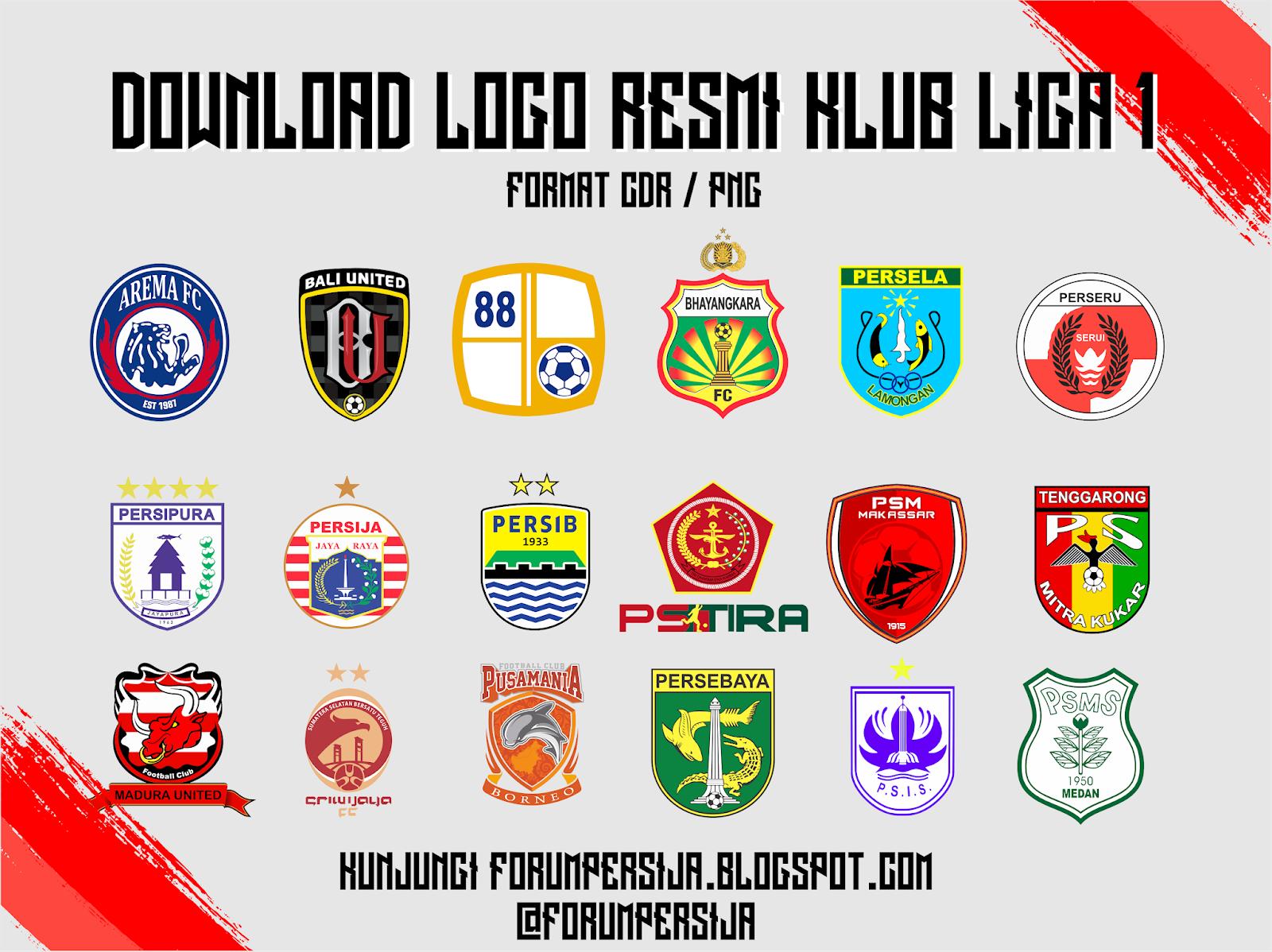 prediksi judi bola terpercaya hot download logo klub liga 1 cdr png hot download logo klub liga