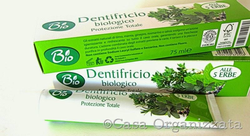 Valentina Kokoro Bellezza Naturale: Quattro dentrifrici..