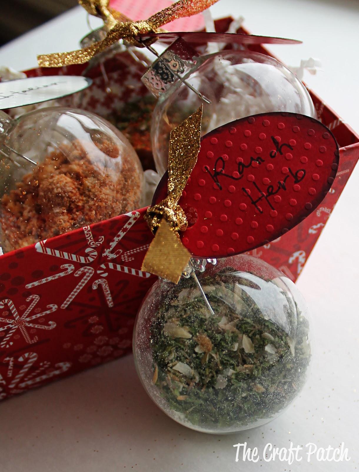 The Craft Patch: Herb Dip Seasonings Christmas Gift