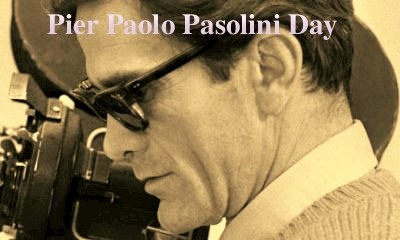 Pierpaolo Pasolini Day - 24/11/2015