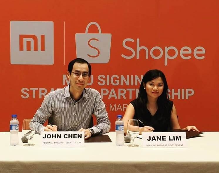 Xioami Launches Official Store in Shopee