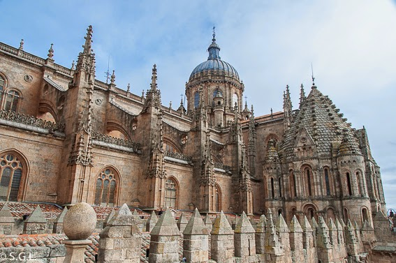 Cimborrio de la Catedral vieja de Salamanca
