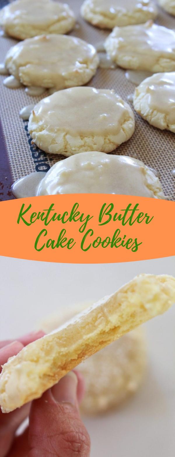 Kentucky Butter Cake Cookies #BUTTER #COOKIES #DESSERT