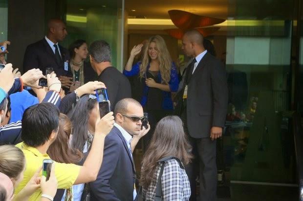 Shakira en Rio de Janeiro