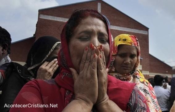 Mujeres cristianas pakistaníes