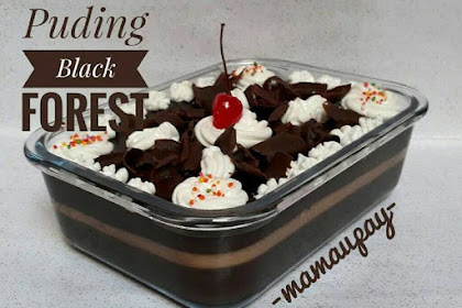 Resep Puding Black Forest In Cup