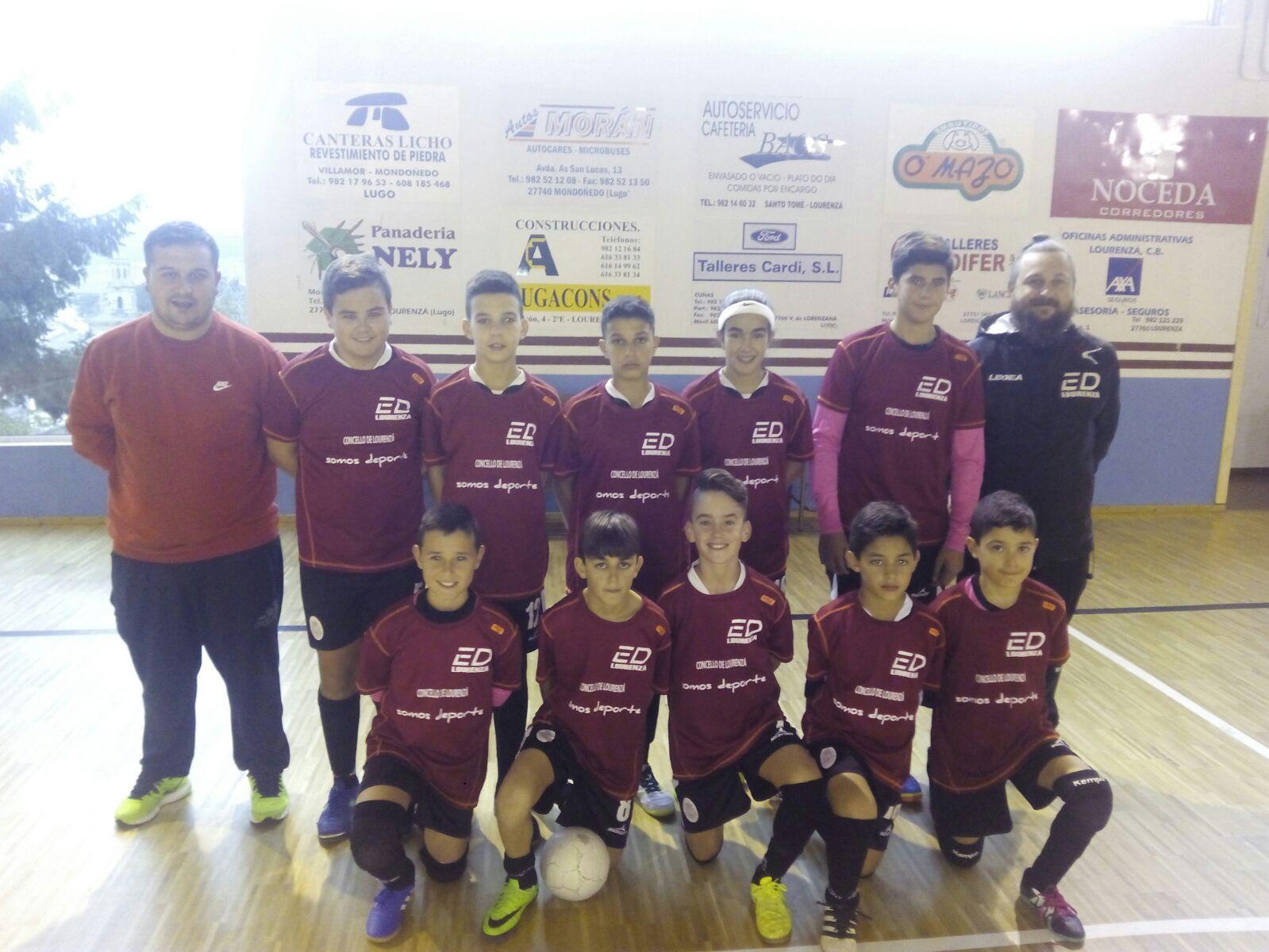 Escolas Deportivas Lourenz F Sala Partidazo Do Muebles Huertas  # Muebles Huertas Lourenza