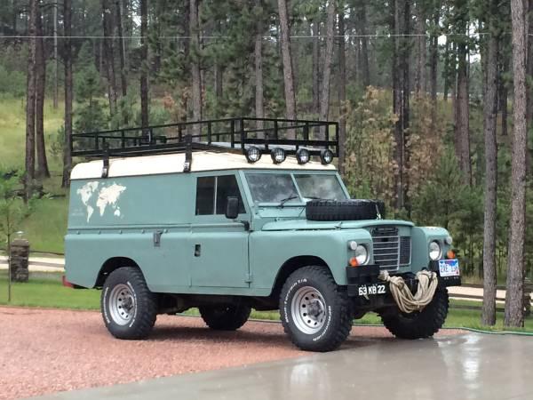 Series 3 Land Rover Diesel RHD