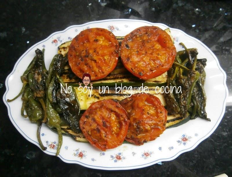 GUARNICIÓN: Verduras a la plancha