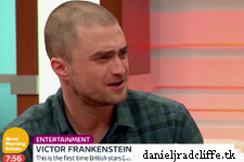 Daniel Radcliffe and James McAvoy on Good Morning Britain