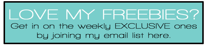 Join our freebie fun!