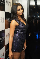 Sanjana looks happy in sparkling short Deep neck Purple Gown ~  Exclusive 27.JPG