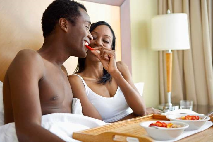 Improve your sex drive by eating regularly and by eating the right foods.