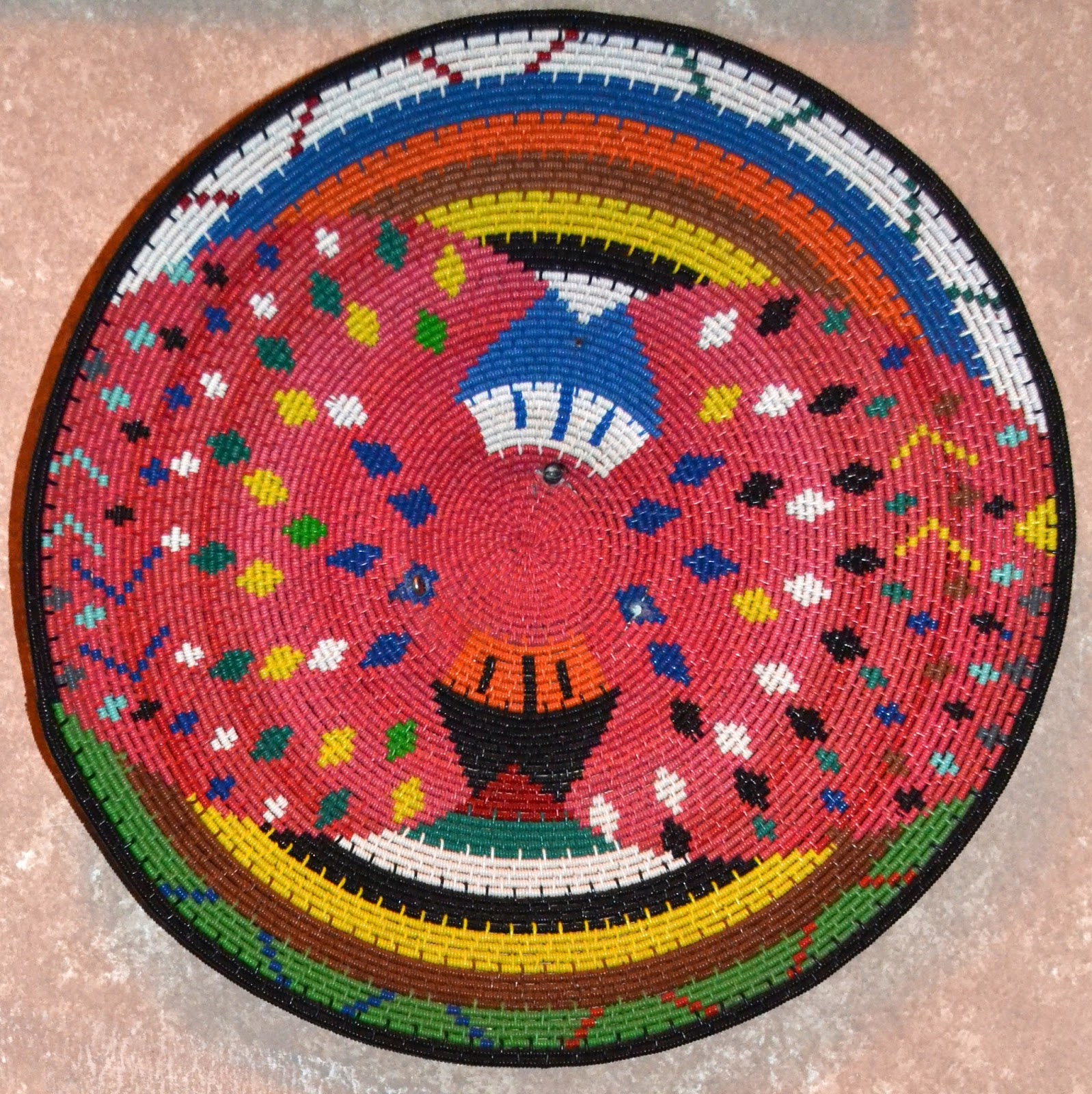 South African Baskets: My Paisley World: African Zulu Telephone Wire Baskets At