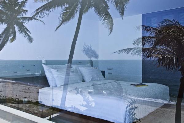 kamar tidur desain villa mewah