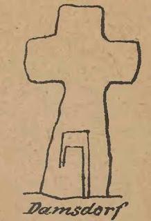 Rysunek Hellmich, krzyż Damianowice, pojednania, pokutny