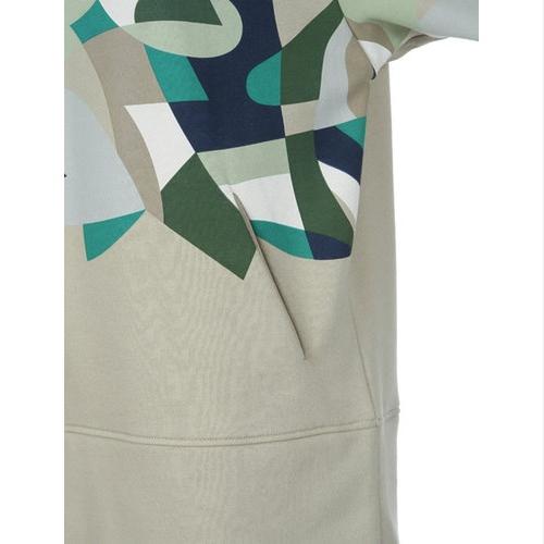 Long Colored Print T-Shirt