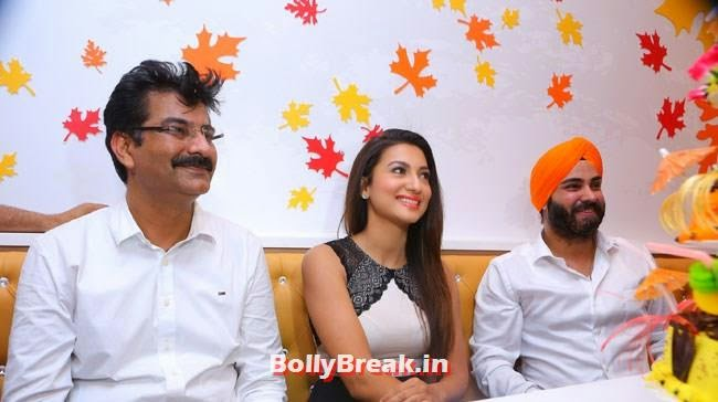 Gauhar Khan inaugrated Kesar's Designer Sweets Outlet, Gauhar Khan Inaugurates Kesar Designer Sweets Outlet