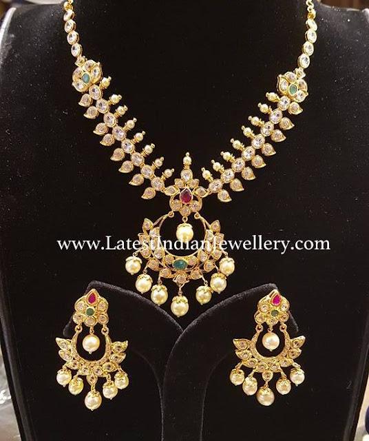 Bhavani Pachi Necklace