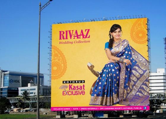, outdoor advertisement through unipoles/hoardings in Delhi