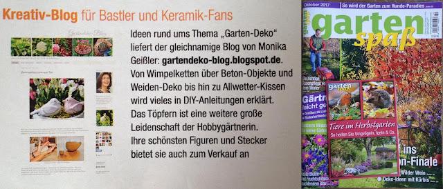 Hubert-Burda-Verlag Gartenspaß Gartendeko-Blog