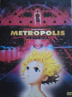 DVD cover to Metropolis (2001)