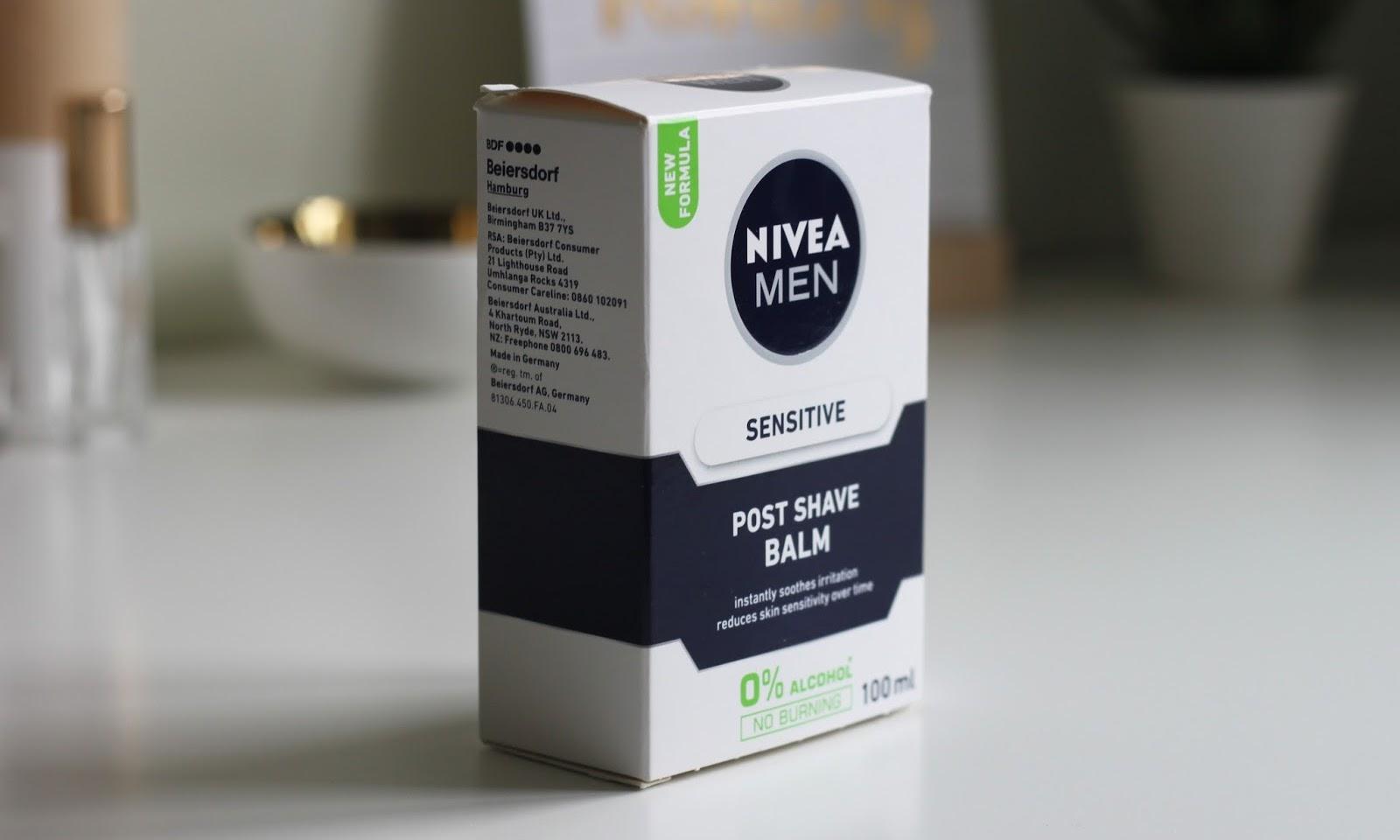 Clashing Time tries Nivea Post Shave Balm as a primer