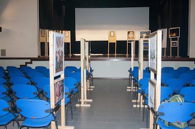 Mostra d'arte al teatro di Dovadola ottobre 2018