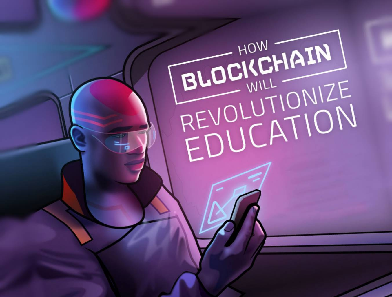 Imagine fleeing your war-torn country with only the clothes on your back and being unable to prove who you are or your level of education once you are finally settled and safe. This infographic outlines how blockchain has the potential to solve that and other issues with education