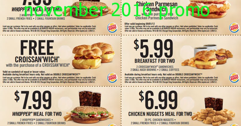 Burger king online delivery coupons