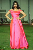 Actress Pujita Ponnada in beautiful red dress at Darshakudu music launch ~ Celebrities Galleries 023.JPG