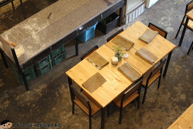 Interior of Cafe by the Ruins Dua in Baguio