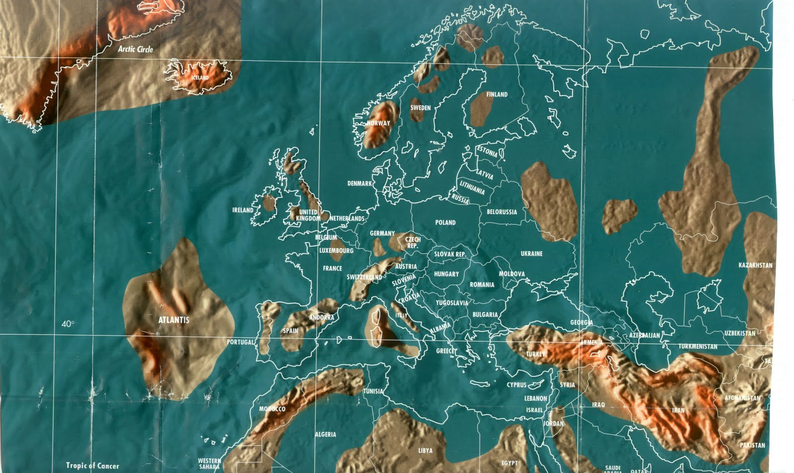 Future Map Of The World The Real Signs Of Times