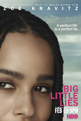Big Little Lies Poster Zoe Kravitz
