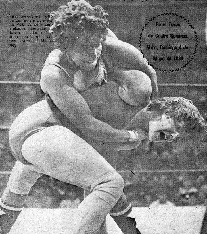 The Luchadoras: Vicki Williams Vs Pantera Surena