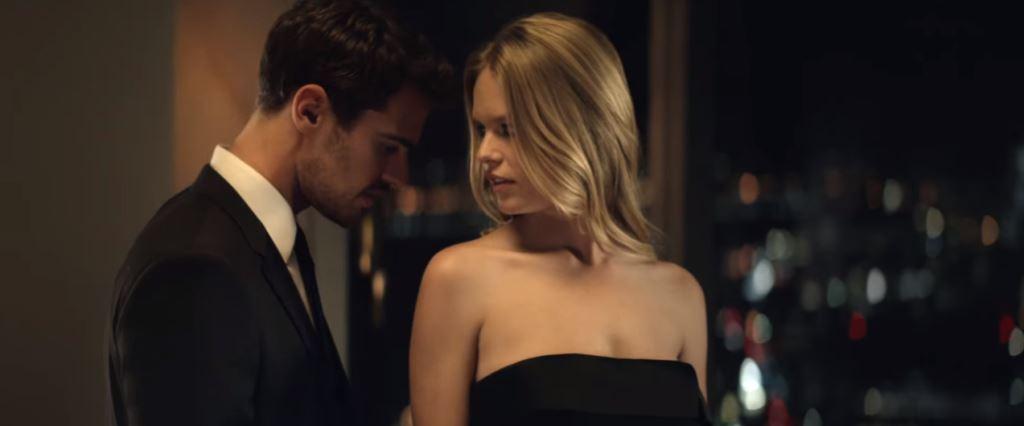 Modella Hugo Boss The Scent - profumo femminile e Modello Testimonial Spot 2016