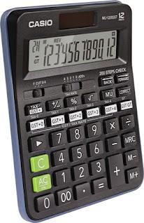 Casio World s First GST Calculator