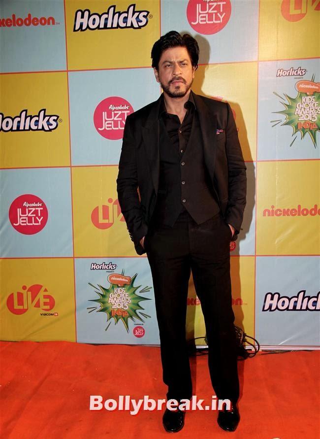 Shah Rukh Khan, Nickelodeon Kids Choice Awards 2013 - Jacqueline Fernandez