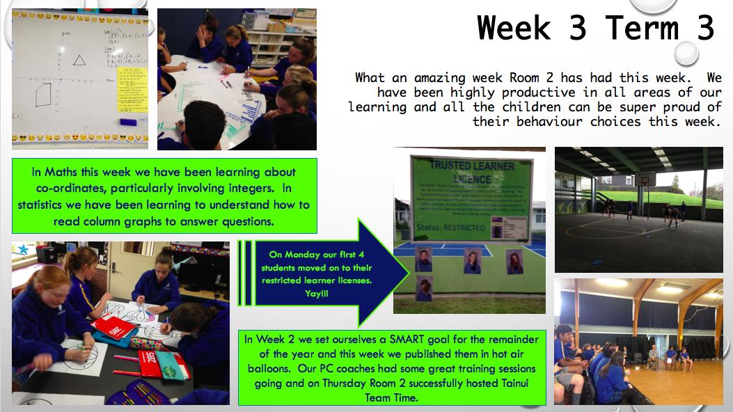 week 3 terms