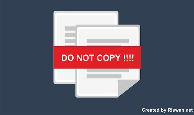 Dampak dari Copy Paste Artikel bagi Blog dan Blogger