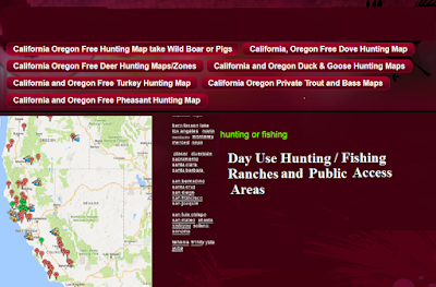 hunting and fishing clubs california and oregon