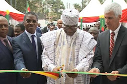 Philemon Yang Inaugurates US-Funded Center for Disease Control in Cameroon