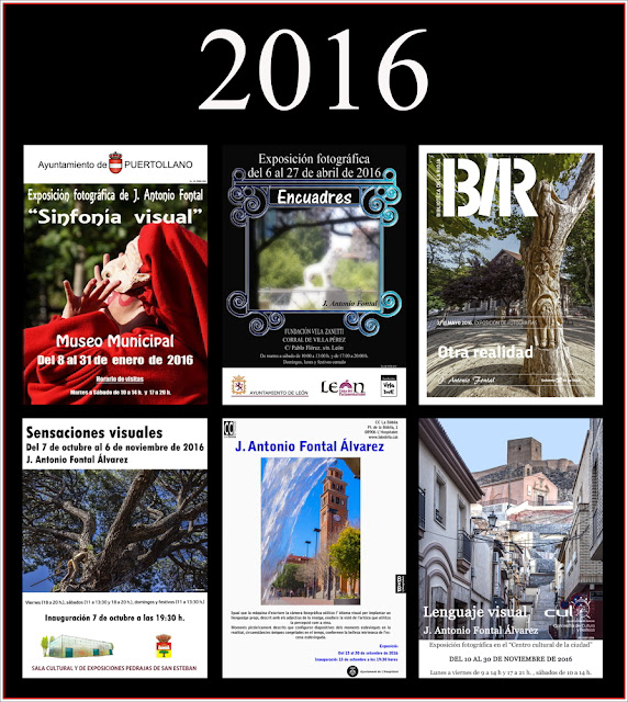 Exposiciones 2016 by J. Antonio Fontal Alvarez