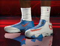NBA 2K13 Nike KD 6 Shoes Patch version 1