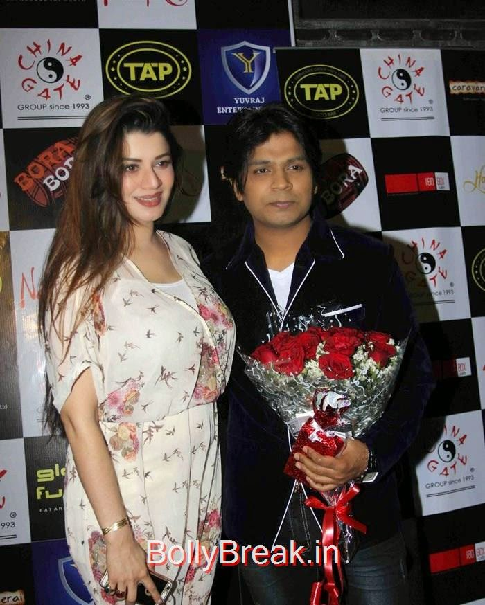 Kainaat Arora, Ankit Tiwari, Hot Pics of Ankita Shorey,Kainaat Arora at  Ankit Tiwari's Birthday Bash