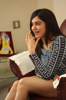 Actress Adah Sharma  Stills in Jumpsuit at Garam Movie Interview  0017